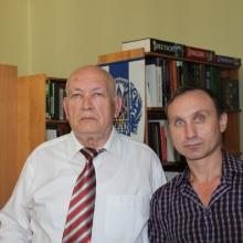 С известным украинским писателем, автором исторических романов Богданом Сушинским, июнь 2019