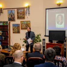 Выступление на дне румынской культуры (библиотека И.Франко)