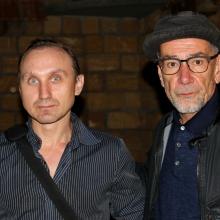 С Алексеем Горбуновым. Кинофест 2017 г.