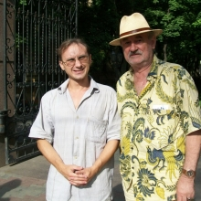 С  известным актёром театра и кино Богданом Ступкой